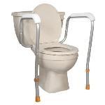 Rampes toilette pour sécurité 771-665 réglable