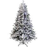 Arbre de Noël de 7 pi de style sapin baumier, avec 300 lumières à DEL aux couleurs changeantes