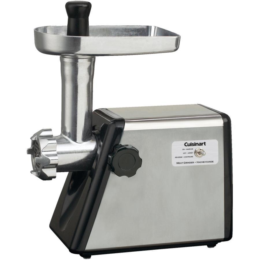 Moulin/hachoir à viande de 300 watts en acier inoxydable brossé